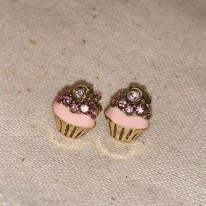 Juicy Couture cupcake stud earrings